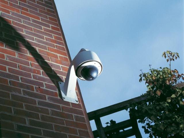 CES CCTV Dome_Brickwall1