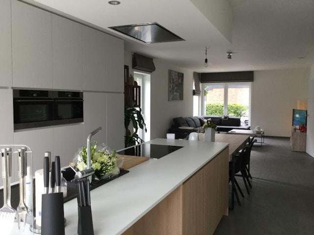 huis woning houtskeletbouw houtskelet interieur Bonheiden 3