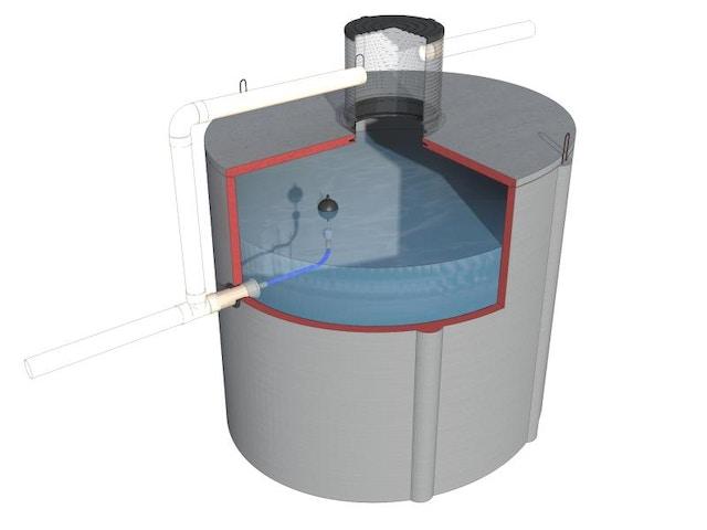 regenwater O SLOW HERGEBRUIK EN VERTRAAGDE AFVOER IN 1 3D