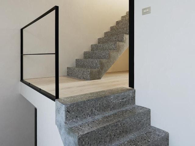 poli escaliers en béton