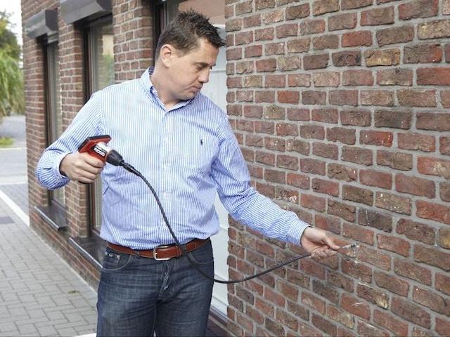 isolatie muur muurisolatie Inspectie spouwmuurna-isolatie