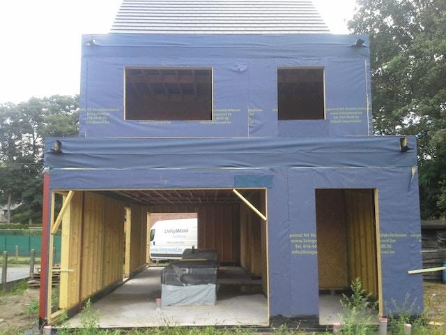 huis woning houtskeletbouw houtskelet