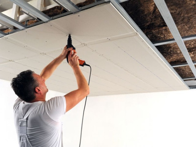 knauf gipskartonplaat gipskarton gipsplaat plafond