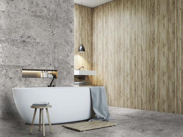 vloer vloeren keramische tegels wandtegels badkamer Ceppo di gré