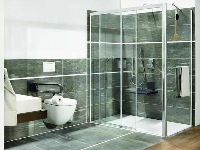 douchezitje toilet badkamer douche inloopdouche