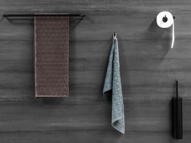 badkamer accessoires zwart