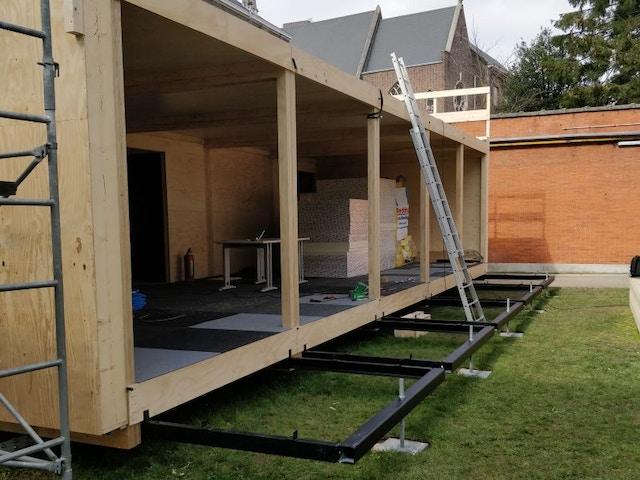 Ugent Pavilion Mobble Modules