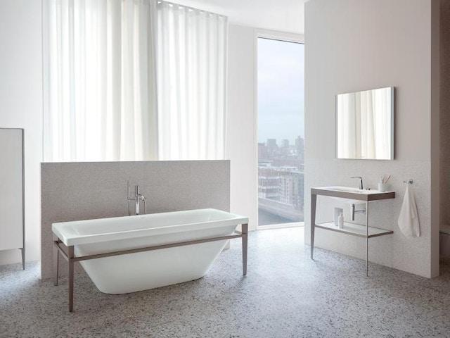 badkamer bad wastafel lavabo