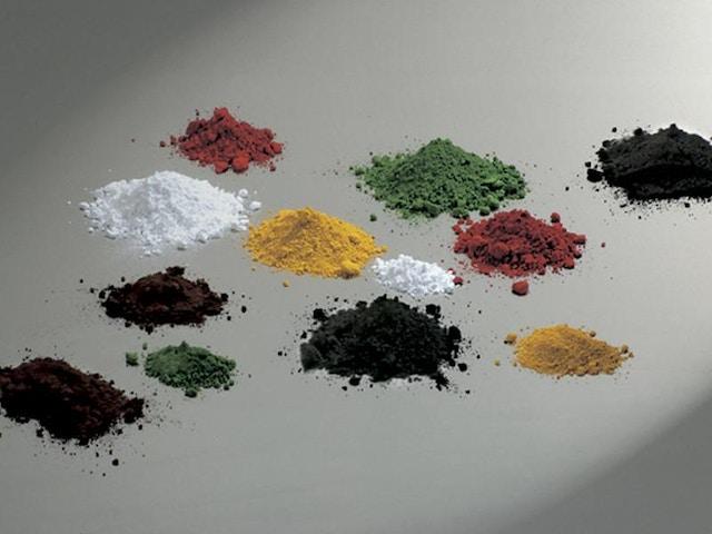 pigment mortel kleuren