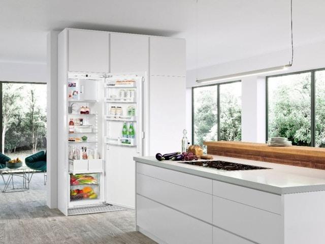 koelkast met vriesvak keuken