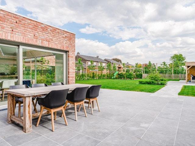 huis Houtskeletbouw houtskeletwoning nieuwbouw huis Kanegem landelijk tuin terras