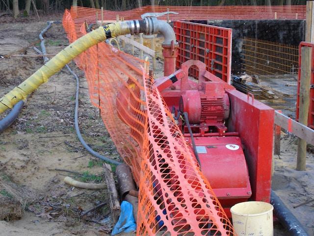 drainage voorbereidende werken