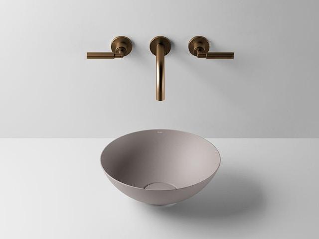 badkamertrends 2020 badkamer natuur wastafel lavabo kraan badkamerkraan