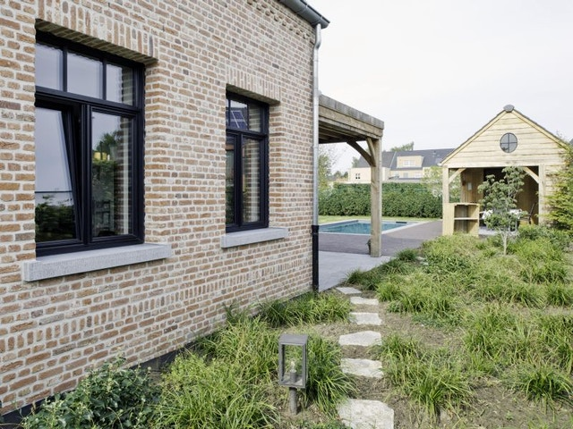 buitenschrijnwerk raam ramen Avantis Smartline 70 Ligna aluminium ramen zwart schrijnwerk woning huis