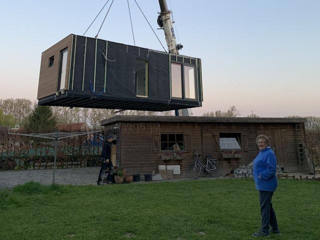 Katrien en Stef zorgwoning kangoeroewoning module modulaire woning 19