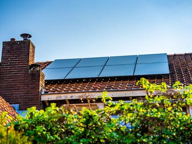 zonnepanelen huis woning