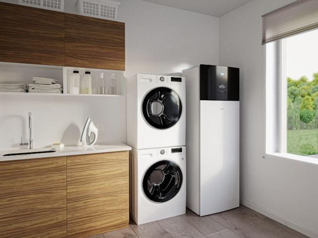 daikin batibouw 2020 warmtepomp wasplaats wasmachine