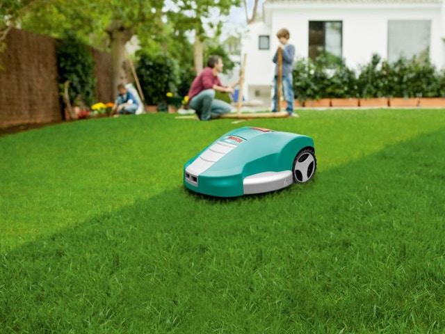 800x600 pelouse robot tondeuse à gazon herbe TAILLE CORRECTE