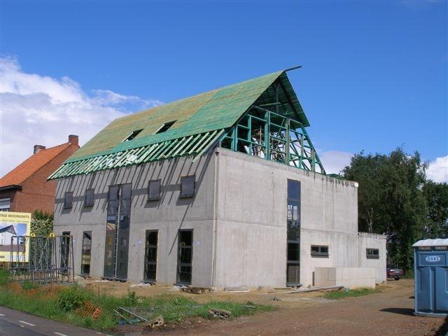 betonbouw beton huis woning vezelbetonbouw concrete house