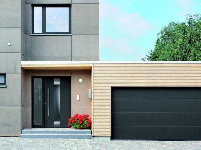garage garagepoort huis