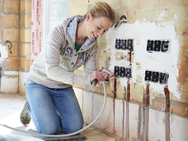 doe-het-zelf zelfbouw elektriciteit sanitair