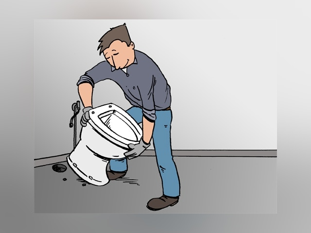 5720 toilet vervangen