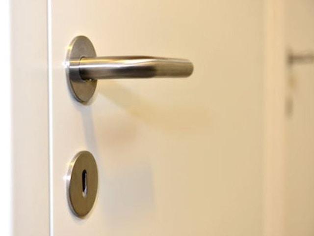 deur binnendeur klink slot