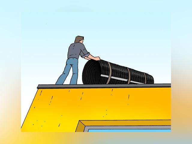 6830 Zonnecollector voor zwembadverwarming installeren stap 3