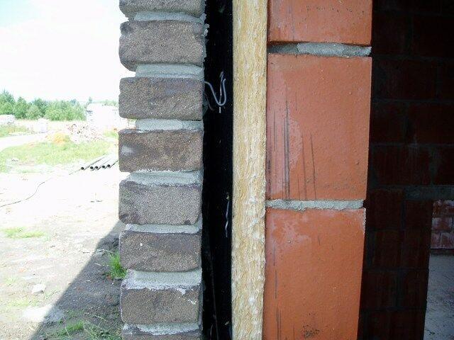 isolatie muur muurisolatie glaswol spouwmuur muuropbouw opbouw muur