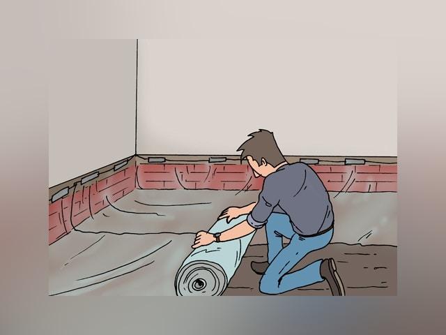 Vloeropbouw maken op vaste grond 3