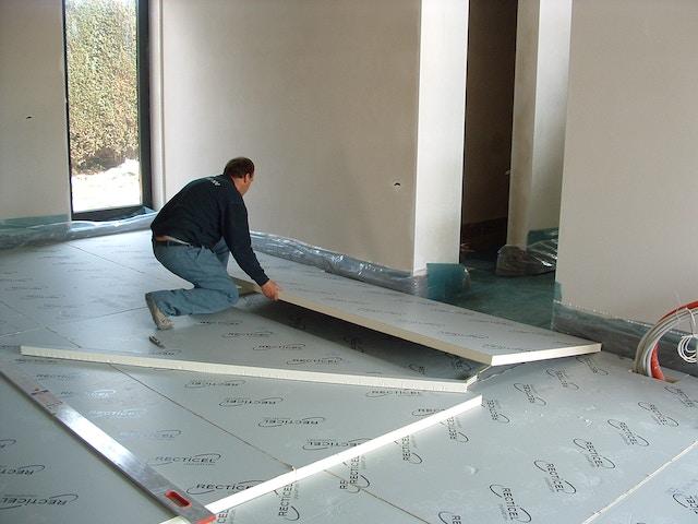 Recticel Insulation massif isolation plancher isolation d'isolation des murs passive
