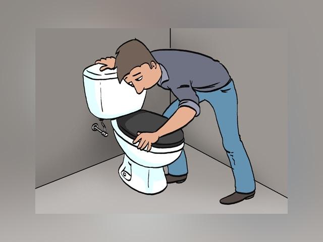 11473 Doorlopend toilet herstellen