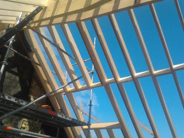 houtskeletbouw houtskelet woning stijlen