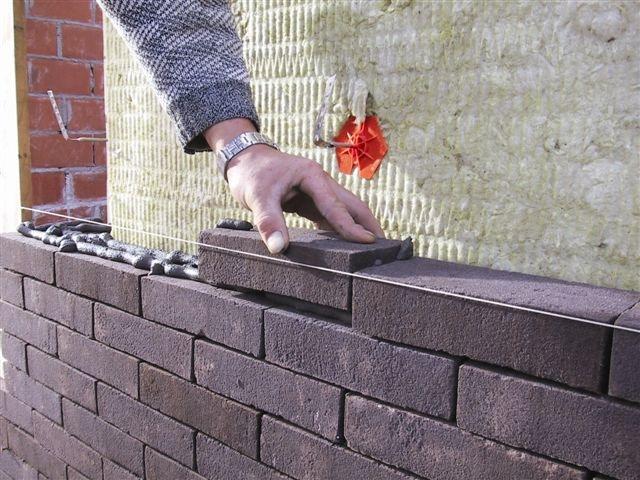 gevel gevelsteen baksteen verlijmen Terca