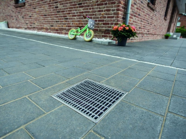 terrasafwatering drainagesysteem rooster