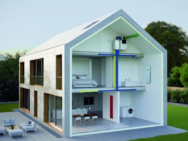 ventilatie ventilatiesysteem huis ZehnderZehnderventilatiehuis