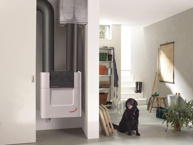ventilatie ventilatiesysteem ComfoAirQ600STComfoWell520basementgardendogComfoPipeCompactPrint72065