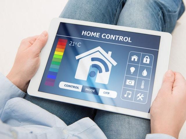 smarthome house slim huis home control domotica tablet