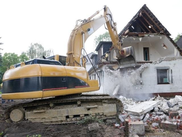 sloop huis woning afbraak afbraakwerken slopen