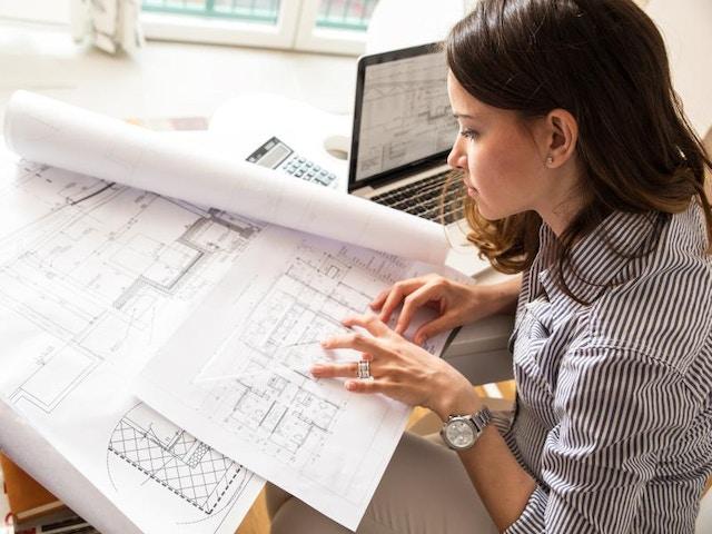 Architect plan bouwplan plattegrond