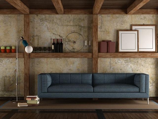 houten plafond balken
