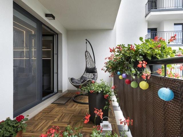 balkon klein terras
