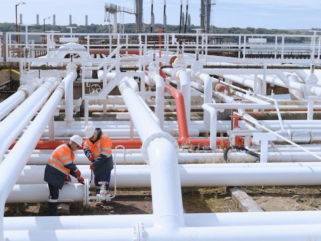 aardgas leidingen