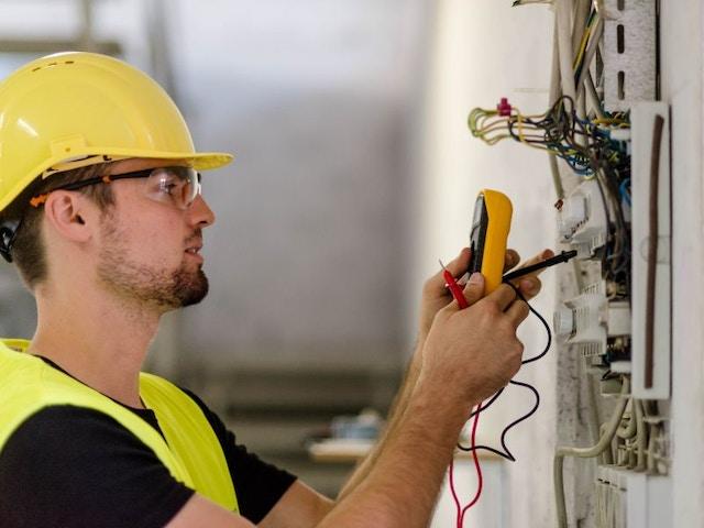 Digitale meter elektriciteit installateur