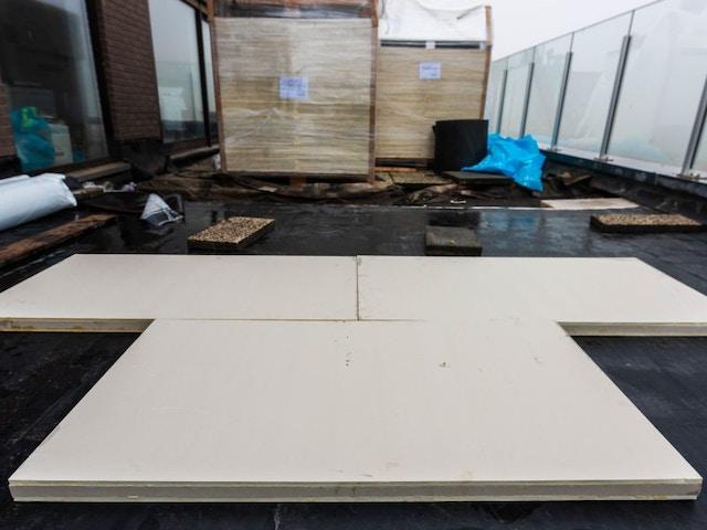 na-isolatie vacuümisolatiepaneel Deck isolatie voor platte daken of terrassen-VQ