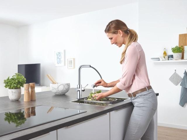 keuken spoelbak keukenkraan kraan