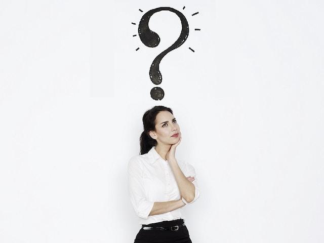 keuze twijfel vraag vraagteken