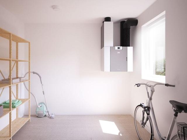 Brink Flair centrale ventilatie toepassing berging