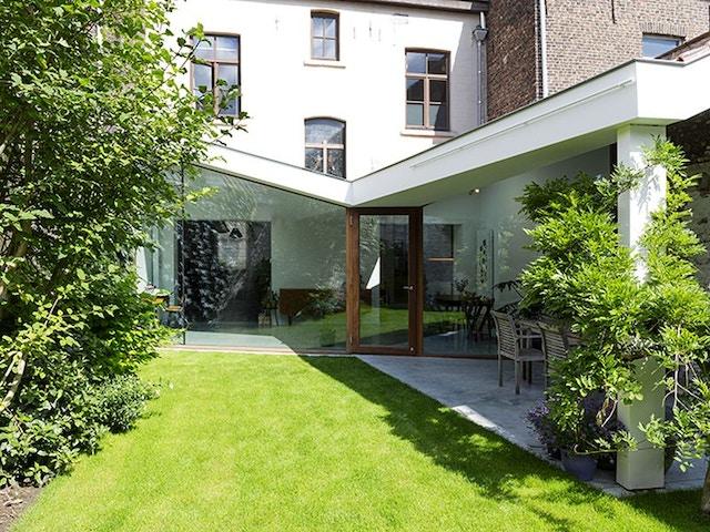 Mijn thuis op maat gevleugelde aanbouw tuin Hanne Joosen