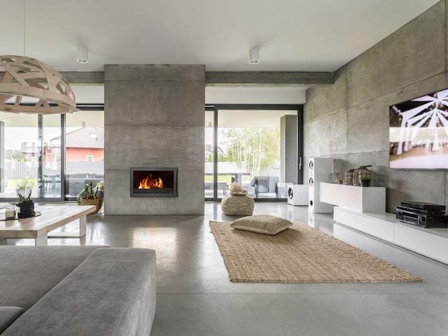 kachel haard Hydro beton